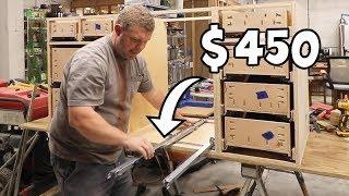 AHHH! The Smell of EXPENSIVE Cabinet Hardware (installing drawer slides)