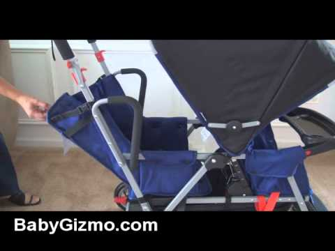 Joovy Too Qool Double Tandem Stroller Apple Doovi