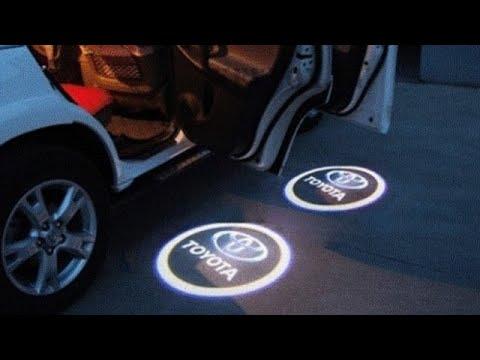 5 четких подсветок дверей с лого авто ALIEXPRESS