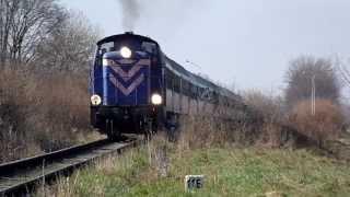 SM42-189 z pociągiem TLK