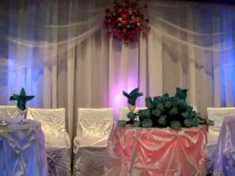 Danny Wedding Decoration Calgary With Real Flowers At Inglewood