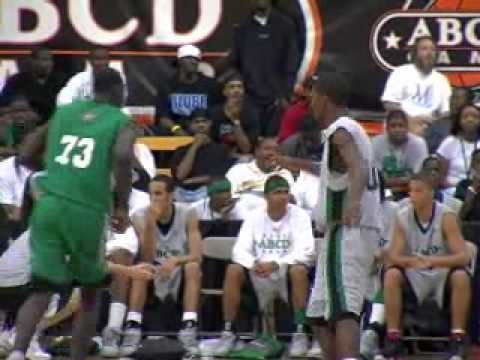 14 year old Lance Stephenson challenges O.J. Mayo at ABCD camp