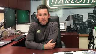 Charlotte 49ers Men's Golf Update with Head Coach Ryan Cabbage