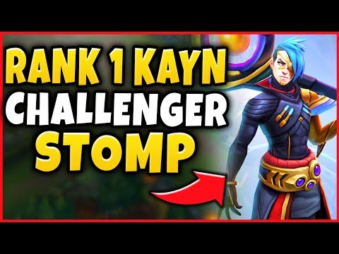 #1 KAYN WORLD SHOWS YOU HOW TO BEAT CHALLENGER PLAYERS! PERFECT KDA CARRY! - League of Legends