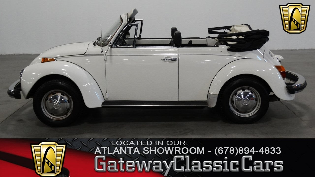 hight resolution of 1978 vw beetle convertible gateway classic cars of atlanta 191