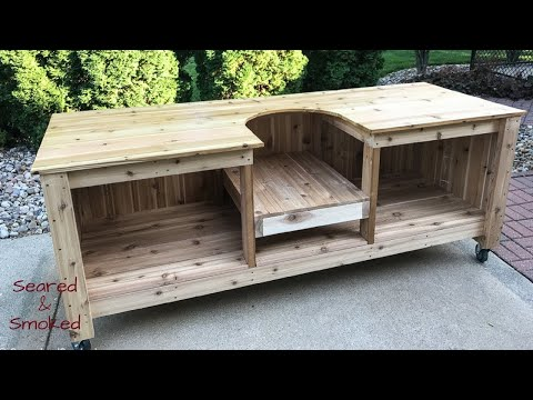 DIY Big Green Egg Table | Part 1