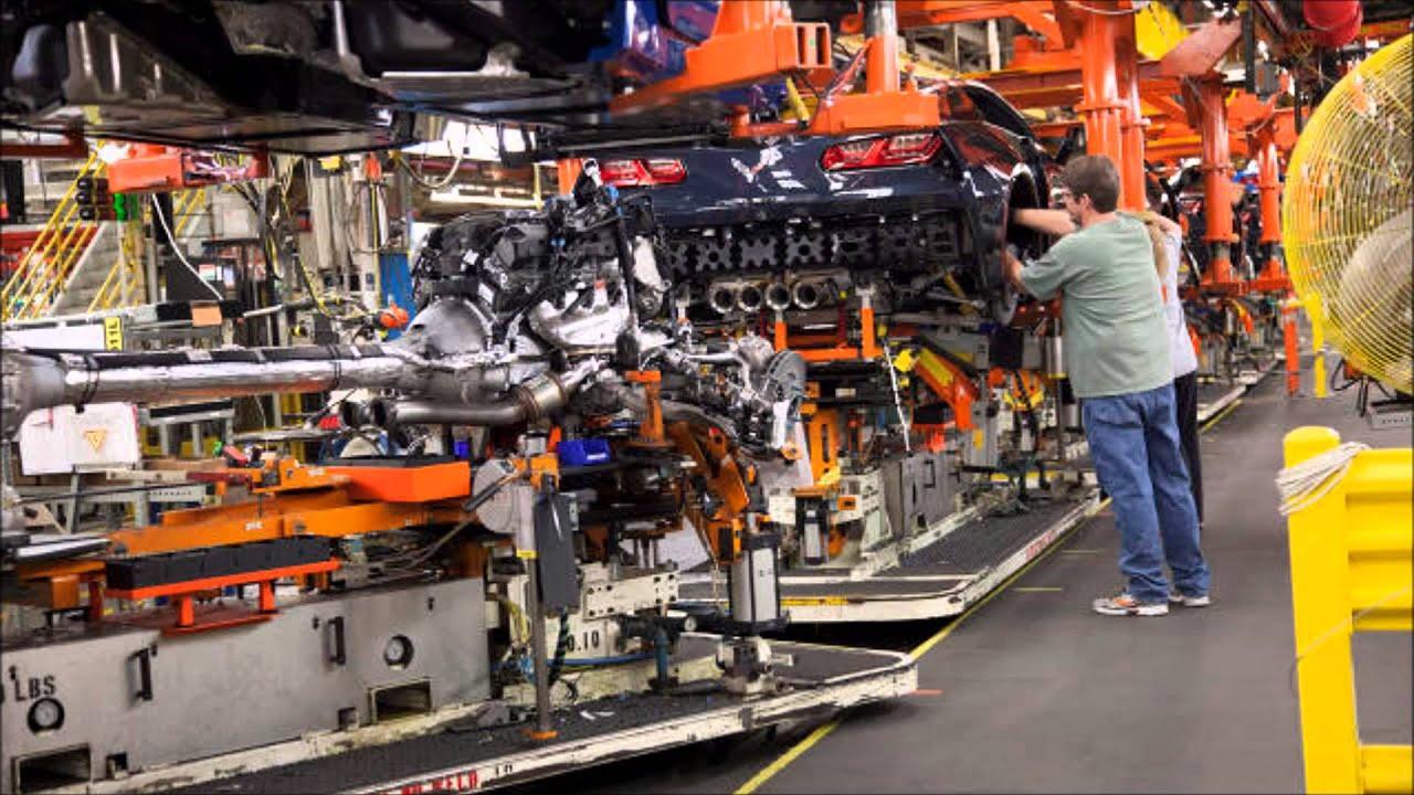 Corvette Factory Tour Youtube