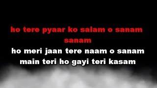 Tere Pyar Ko Salam O Salam Karaoke Gumrah
