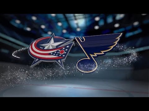 Columbus Blue Jackets vs St. Louis Blues - October 28, 2017 | Game Highlights | NHL 2017/18 Обзор
