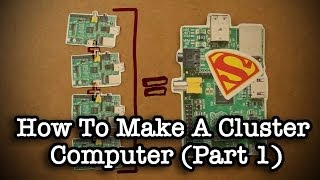 How To Make A Cluster Computer (Part 1)(Learn how to make a 360 video camera! https://www.youtube.com/watch?v=KSRaU9MHVVg -~-~~-~~~-~~-~- Learn how to make a cluster computer using ..., 2014-04-27T15:24:08.000Z)