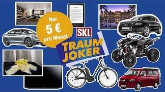 Der SKL-Traum-Joker: Sachpreise & Cash gewinnen I Lotterie.de