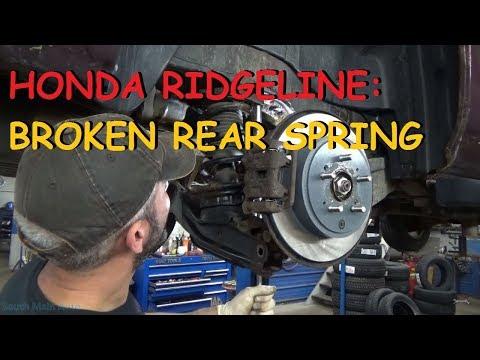 Honda Ridgeline: Broken Rear Spring