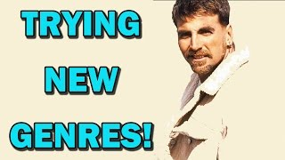 Akshay Kumar experimenting with different film genres! | Bollywood News