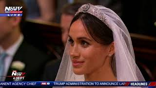 THE MOMENT: Prince Harry and Meghan Markle Officially Husband and Wife (FNN)