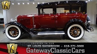 1929 Buick Model 27 Stock #7385 Gateway Classic Cars St. Louis Showroom