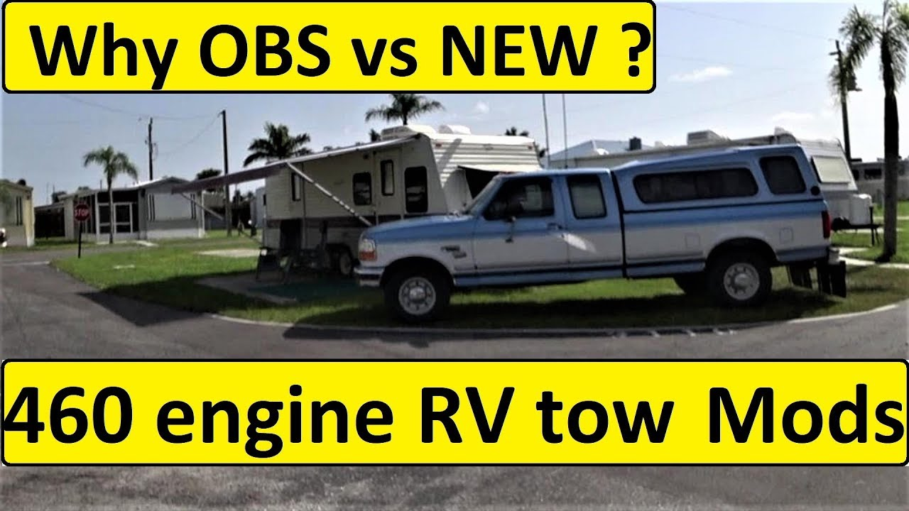 OBS Ford F250 Modifications for RV towing