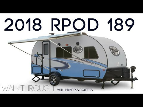 2018 RPOD 189 Travel Trailer Walkthrough with Princess Craft RV