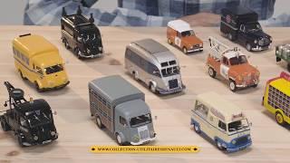 Utilitaires Renault, les plus beaux modèles au 1/43e | Hachette Collections