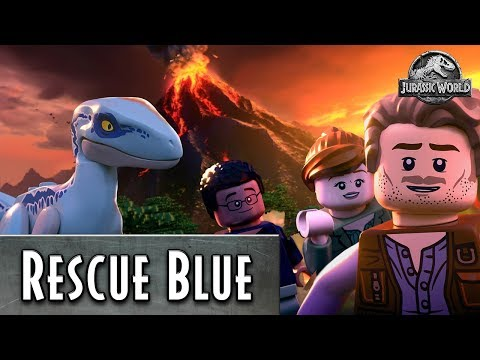 Rescue Blue the Dinosaur - LEGO Jurassic World - Pick Your Path