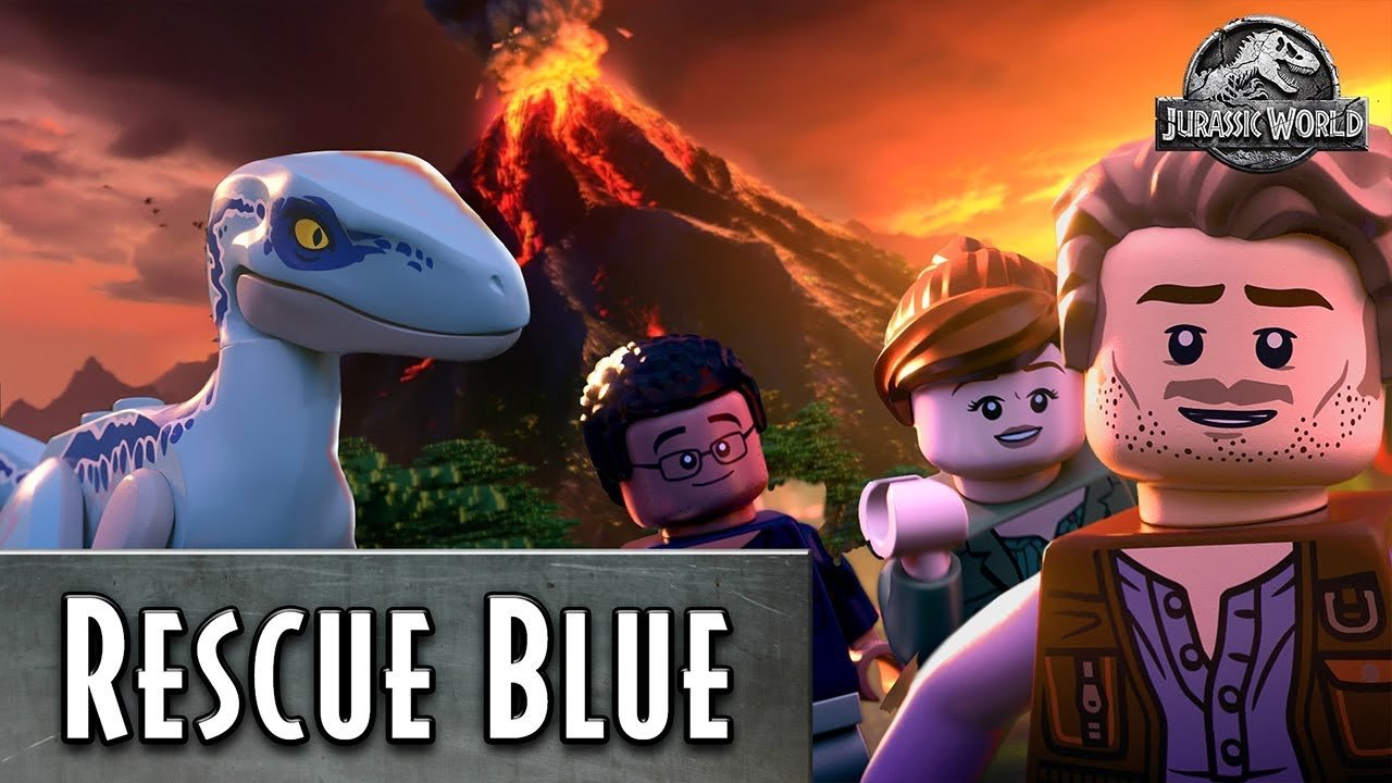 Rescue Blue The Dinosaur Lego Jurassic World Pick Your Path