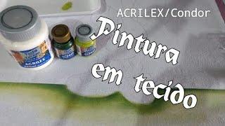 Dicas de pintura em tecido – pintando chão