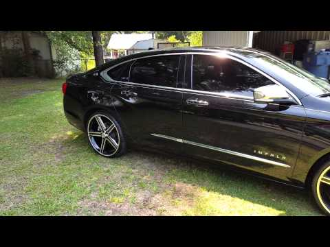 2014 Chevrolet Impala Ltz On 22 S Black Amp Machine Youtube