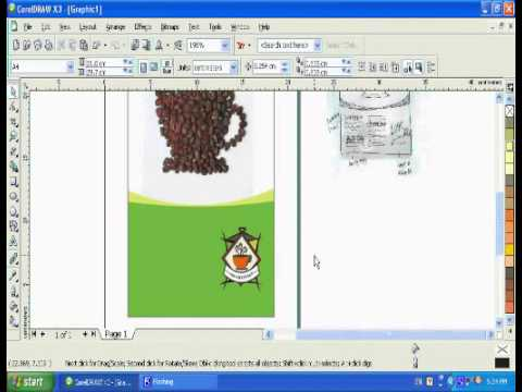 How to prepare Newspaper advertisement in Coreldraw