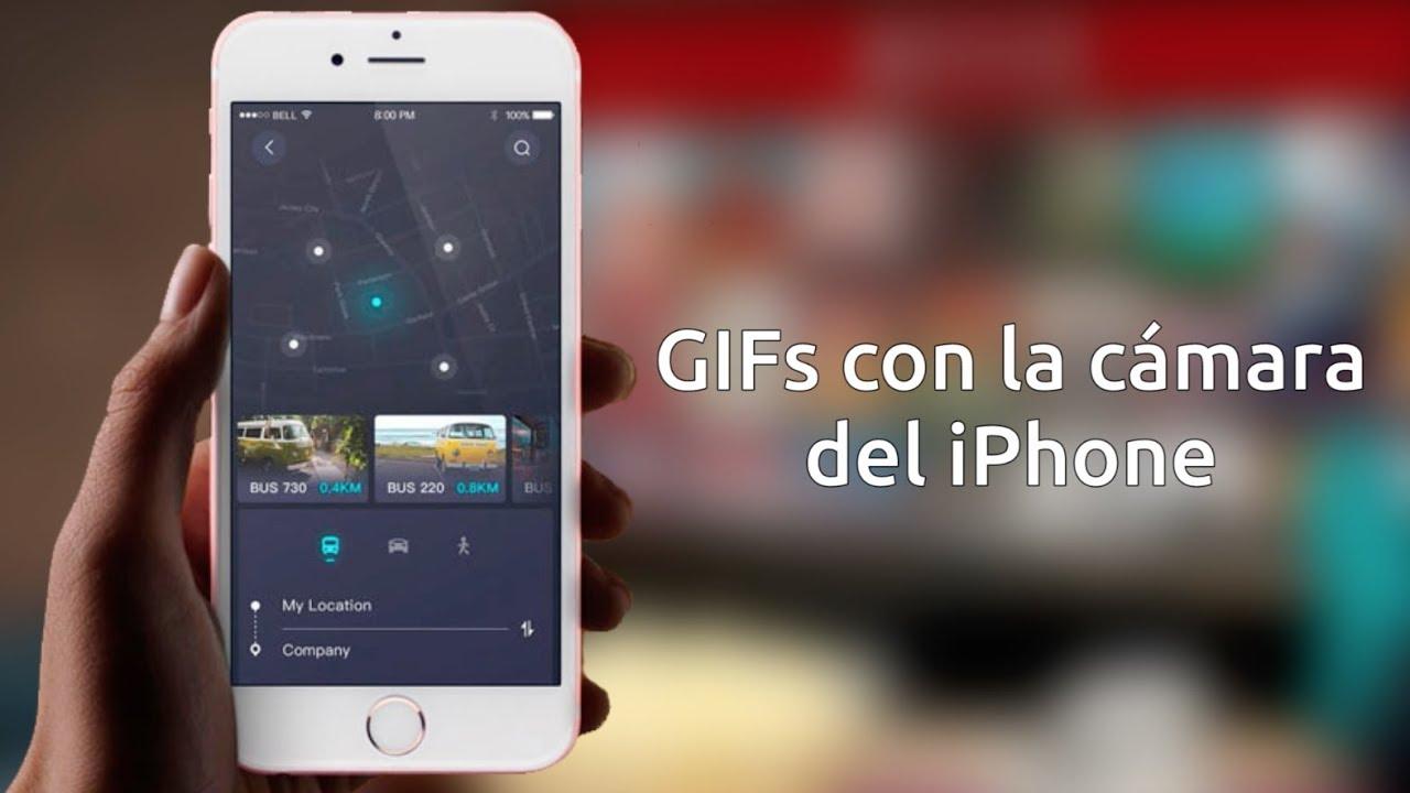 7ae0d9e33d5 Cómo hacer GIFs con el iPhone - YouTube