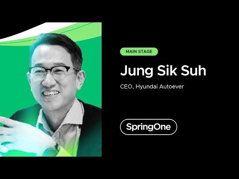 Jung Sik Suh at SpringOne 2021