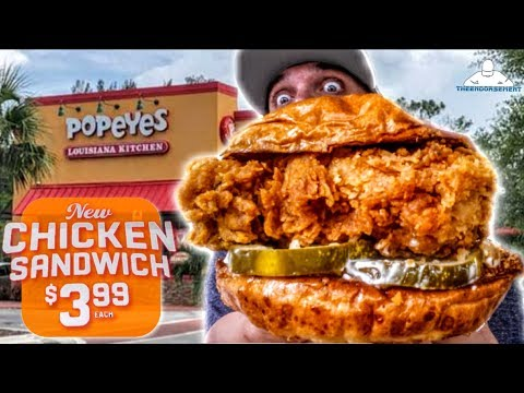 DC - Popeyes launching sandwich to compete with Chick-fil-A