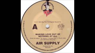 air supply making love out of nothing at all billboard top 100 of 1983