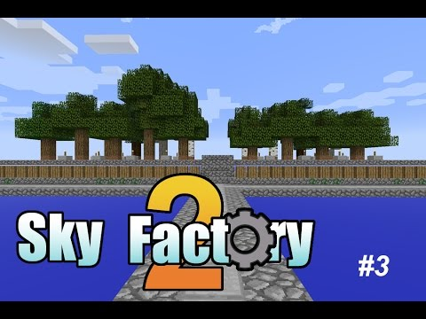 Sky Factory 2 (Modded Minecraft) - 03 - Auto Sieving and Hammering