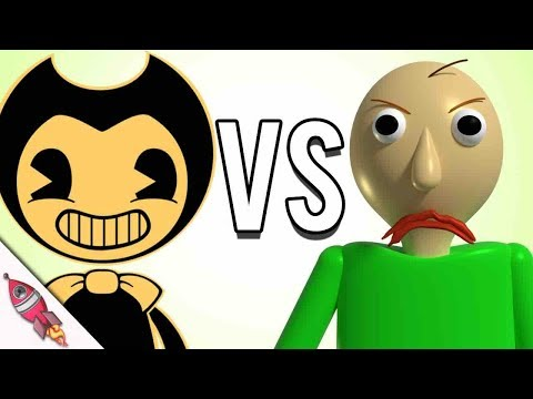 Baldi's Basics vs Bendy and the Ink Machine Rap Battle