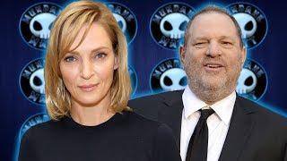 Uma Thurman calls out Harvey Weinstein & his