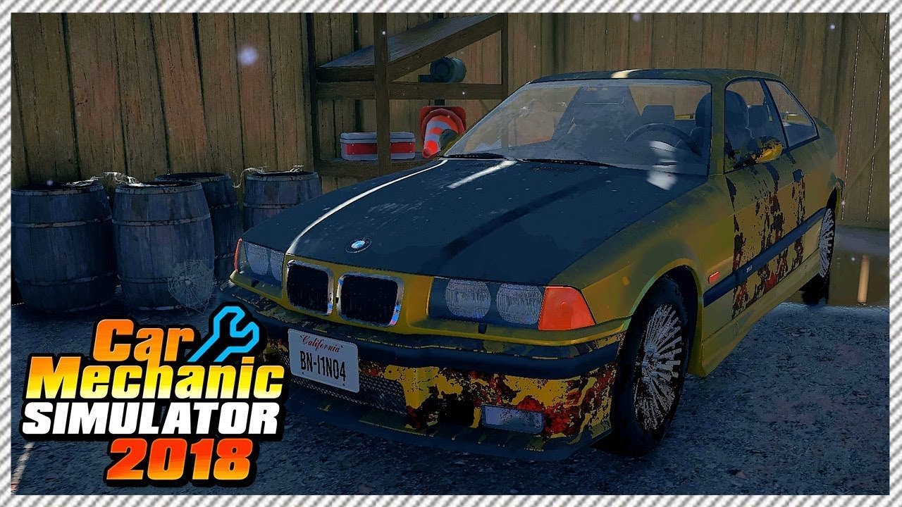 Cheap Salvage Rescue Build Bmw M3 E36 Car Mechanic Simulator 2018 Ep 10 Youtube