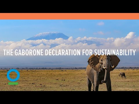 The Gaborone Declaration for Sustainability in Africa