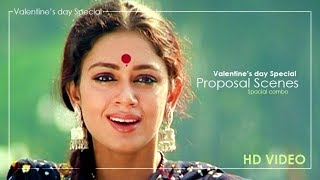 Valentine's day Special 2020 | Malayalam Movie Proposal Scenes | Mohanlal