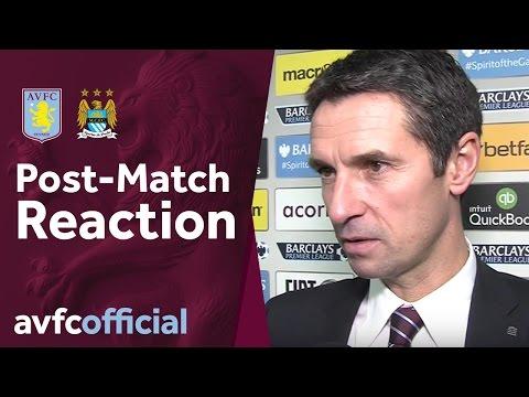 Aston Villa 0-0 Man City post match reaction