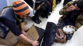 Ankara Metro'sunda müzik yapanlara güvenlik görevlilerinin müdahalesi