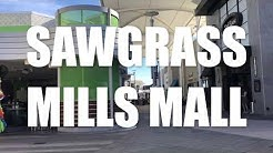 Sawgrass Mills Mall Tour (Shopping Miami)