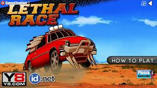 Lethal Race / Car Race Games / Browser Flash Games / Gameplay Video