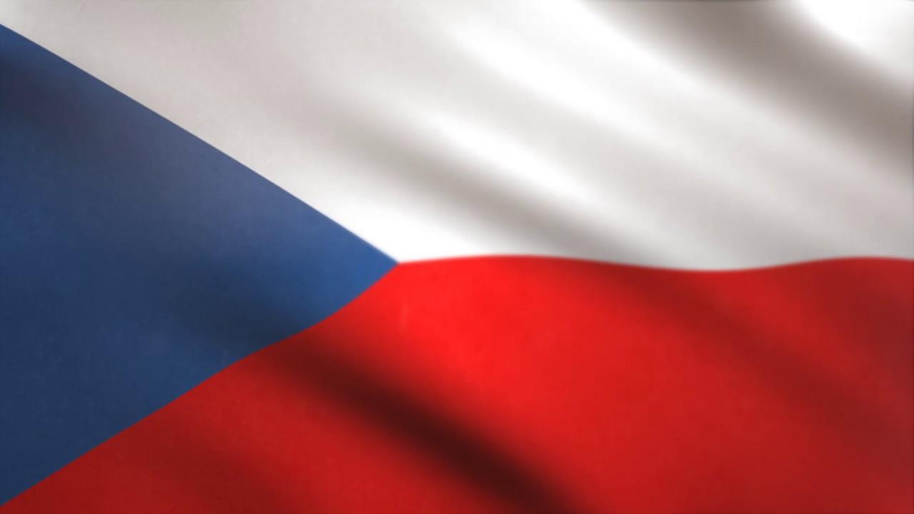 Czech Republic Flag waving animated using MIR plug in ...