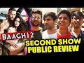 BAAGHI 2 PUBLIC REVIEW | SECOND SHOW | Tiger Shroff | Disha Patani