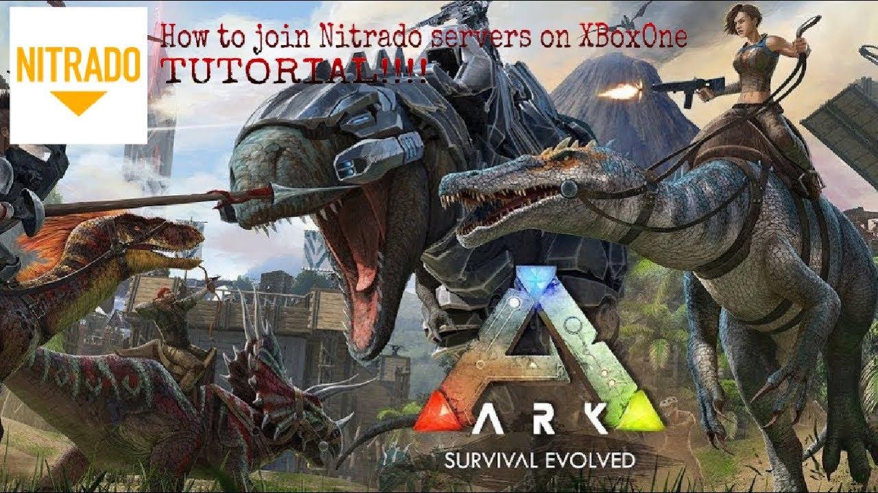 How to get into Nitrado hosted servers Ark XboxOne