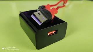 Фото НОВИНКИ QC 3.0 зарядка ROCK 18W  кабель ROCKSPACE Micro Usb