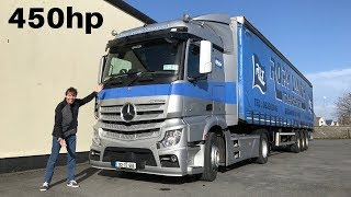 2018 Mercedes-Benz Actros 1845 Full Tour & Test Drive (Night Run)