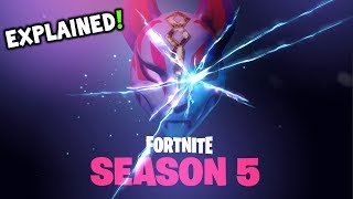★ NEW Fortnite Season 5 TEASER EXPLAINED - Fortnite Season 5 BATTLE PASS SKIN + STORY CHARACTER