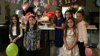 Victoria's Birthday Party Cooking Class - Birthday Cooking Classes - Heghineh Cooking Show