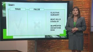 VERIFY: Sitting in a sauna will not kill COVID-19