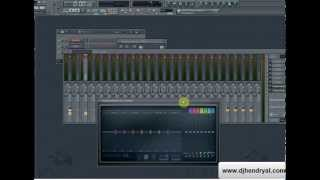 Membuat effect suara angin di Fl studio